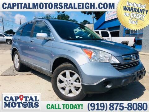 2008 Honda CR-V for sale at Capital Motors in Raleigh NC