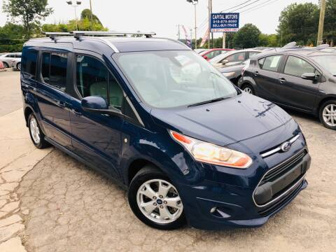 2014 Ford Transit Connect Wagon for sale at Capital Motors in Raleigh NC