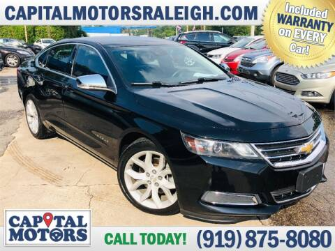 2014 Chevrolet Impala for sale at Capital Motors in Raleigh NC