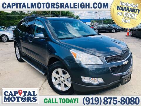 2011 Chevrolet Traverse for sale at Capital Motors in Raleigh NC