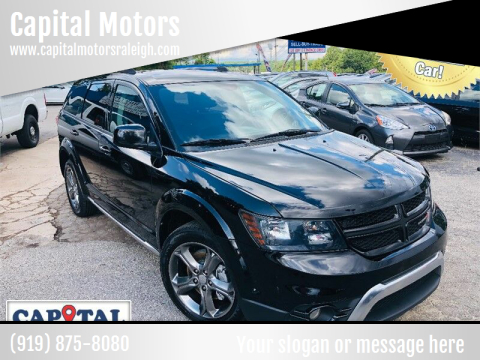 2017 Dodge Journey for sale at Capital Motors in Raleigh NC