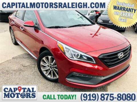 2015 Hyundai Sonata for sale at Capital Motors in Raleigh NC