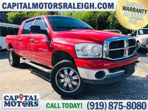 2006 Dodge Ram Pickup 2500 for sale at Capital Motors in Raleigh NC