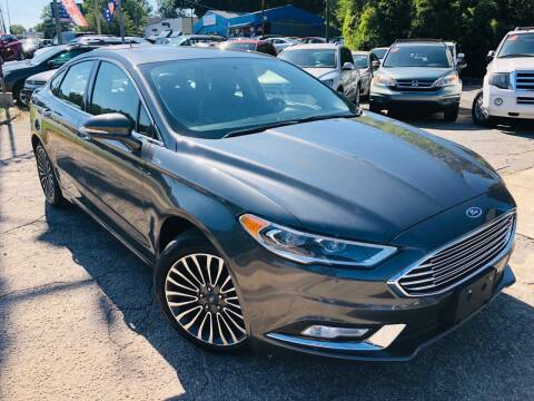 2017 Ford Fusion for sale at Capital Motors in Raleigh NC