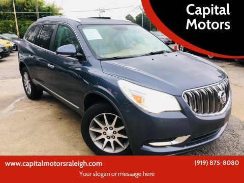 2013 Buick Enclave for sale at Capital Motors in Raleigh NC