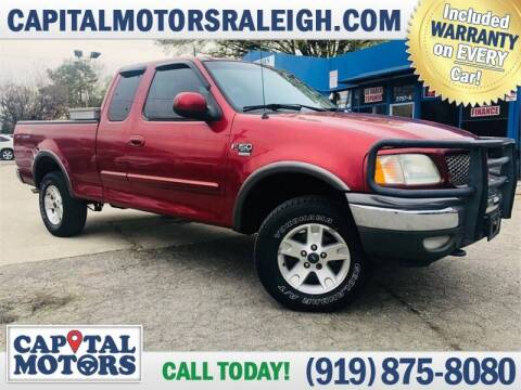 2002 Ford F-150 for sale at Capital Motors in Raleigh NC