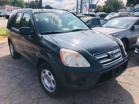 2006 Honda CR-V for sale at Capital Motors in Raleigh NC