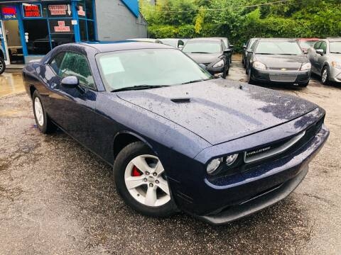 2013 Dodge Challenger for sale at Capital Motors in Raleigh NC