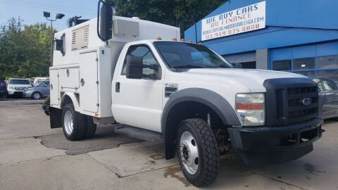 2008 Ford F-450 Super Duty for sale at Capital Motors in Raleigh NC