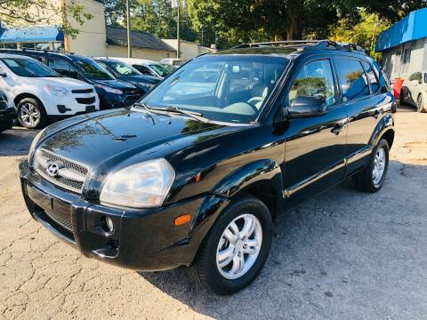 2007 Hyundai Tucson for sale at Capital Motors in Raleigh NC
