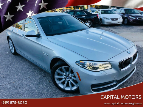 2014 BMW 5 Series for sale at Capital Motors in Raleigh NC