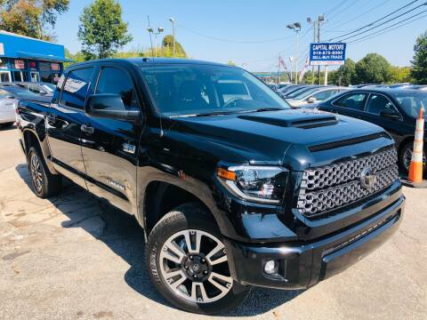 2019 Toyota Tundra for sale at Capital Motors in Raleigh NC