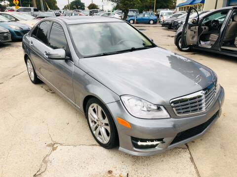 2012 Mercedes-Benz C-Class for sale at Capital Motors in Raleigh NC