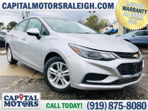 2017 Chevrolet Cruze for sale at Capital Motors in Raleigh NC