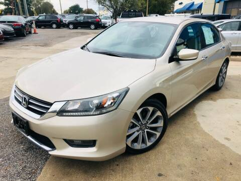 2014 Honda Accord for sale at Capital Motors in Raleigh NC