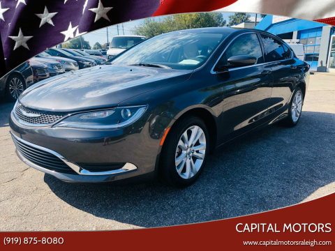 2017 Chrysler 200 for sale at Capital Motors in Raleigh NC
