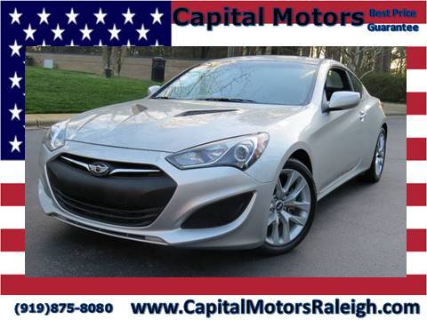 2013 Hyundai Genesis Coupe for sale in Raleigh, NC