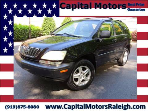 2002 Lexus RX 300 for sale in Raleigh, NC
