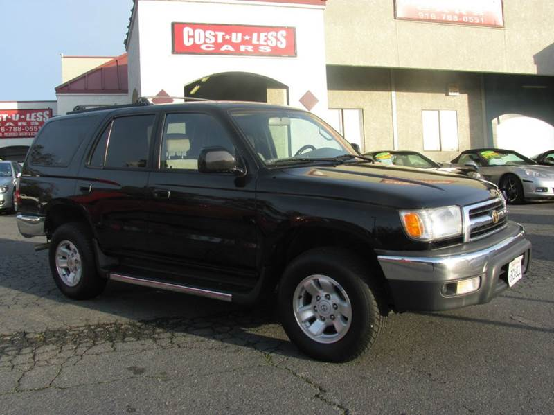 2000 Toyota 4Runner For Sale At COST U LESS CARS In Roseville CA