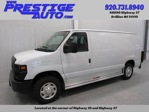 2011 Ford E-Series Cargo for sale at Prestige Auto Sales in Brillion WI