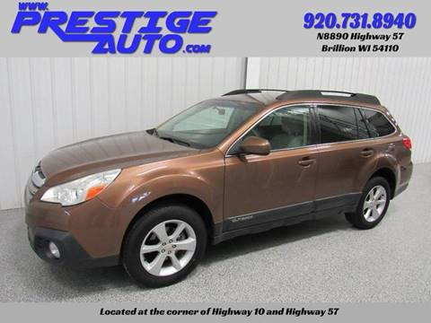2013 Subaru Outback for sale at Prestige Auto Sales in Brillion WI