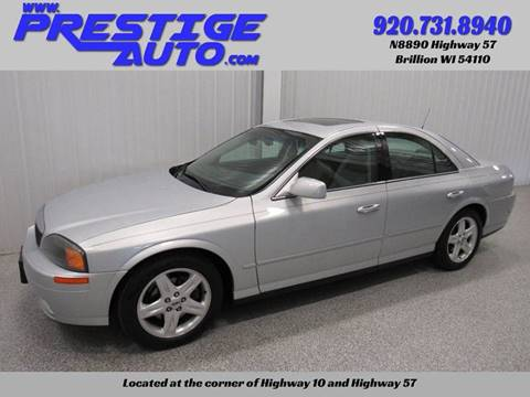 2002 Lincoln LS for sale in Brillion, WI