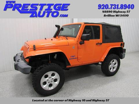 2013 Jeep Wrangler for sale in Brillion, WI