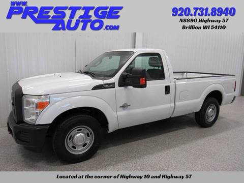 2016 Ford F-250 Super Duty for sale at Prestige Auto Sales in Brillion WI