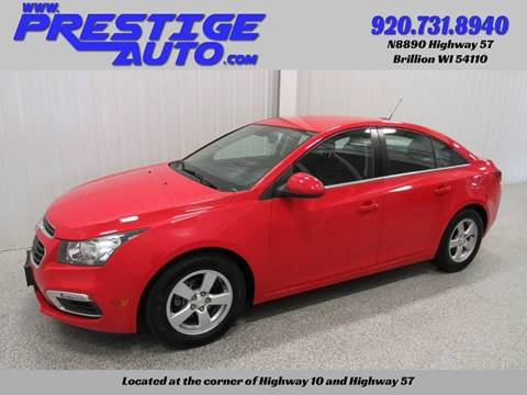 2016 Chevrolet Cruze Limited for sale in Brillion, WI
