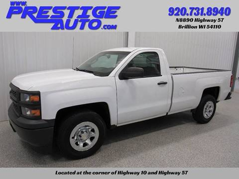 2014 Chevrolet Silverado 1500 for sale at Prestige Auto Sales in Brillion WI