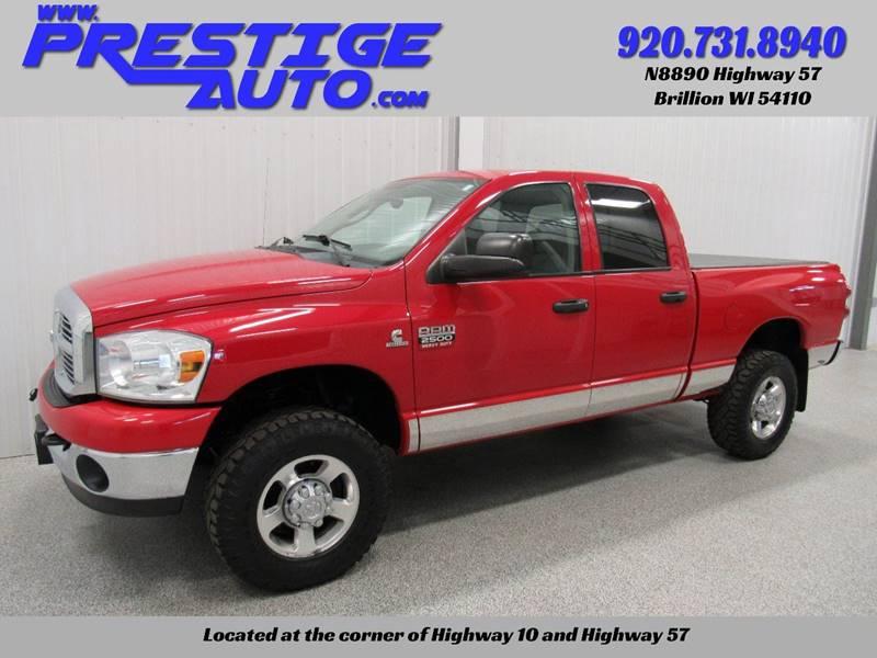 2008 Dodge Ram Pickup 2500 for sale at Prestige Auto Sales in Brillion WI