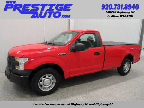 2017 Ford F-150 for sale at Prestige Auto Sales in Brillion WI