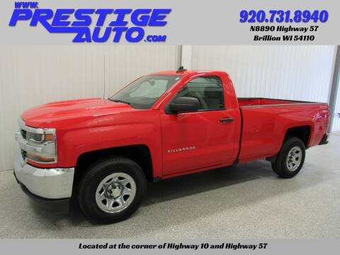 2016 Chevrolet Silverado 1500 for sale at Prestige Auto Sales in Brillion WI
