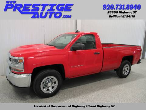 2017 Chevrolet Silverado 1500 for sale at Prestige Auto Sales in Brillion WI