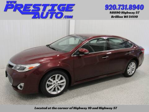2015 Toyota Avalon for sale at Prestige Auto Sales in Brillion WI