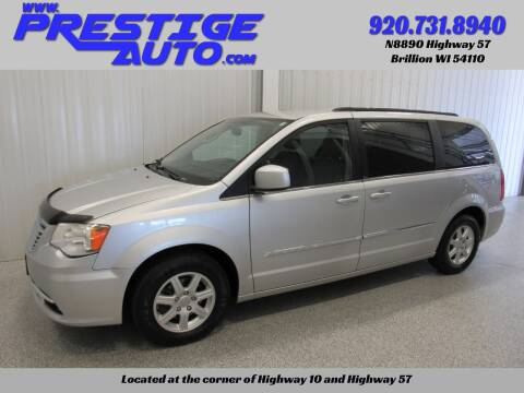 2012 Chrysler Town and Country for sale at Prestige Auto Sales in Brillion WI