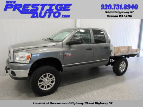 2007 Dodge Ram Pickup 2500 for sale at Prestige Auto Sales in Brillion WI