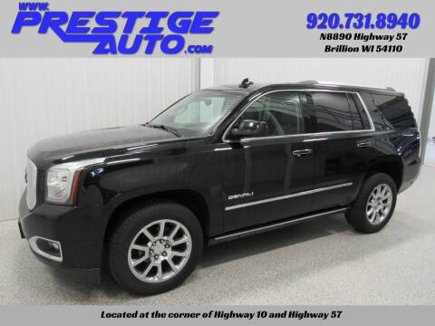 2015 GMC Yukon for sale at Prestige Auto Sales in Brillion WI