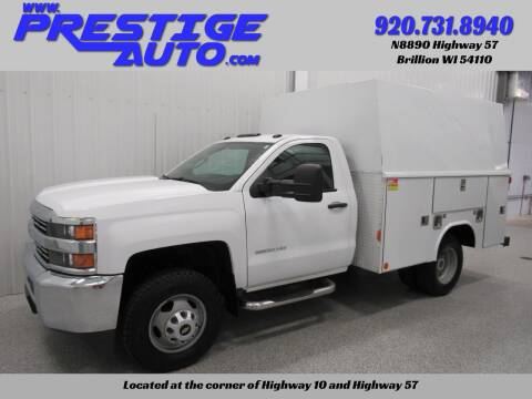 2016 Chevrolet Silverado 3500HD for sale at Prestige Auto Sales in Brillion WI