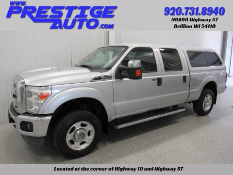 2011 Ford F-250 Super Duty for sale at Prestige Auto Sales in Brillion WI