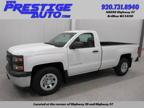 2015 Chevrolet Silverado 1500 for sale at Prestige Auto Sales in Brillion WI