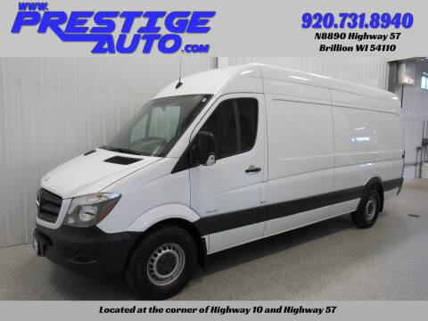 2015 Mercedes-Benz Sprinter Cargo for sale at Prestige Auto Sales in Brillion WI
