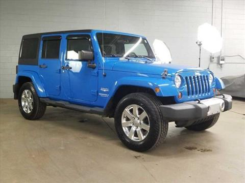 2012 Jeep Wrangler Unlimited for sale in Chattanooga, TN