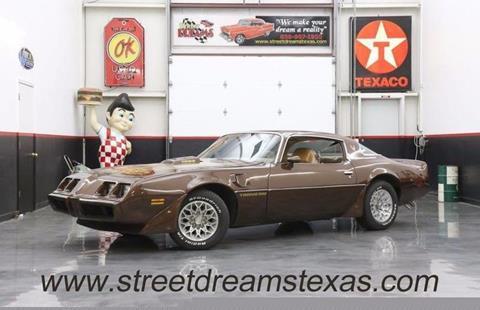 1979 Pontiac Trans Am for sale in Fredericksburg, TX