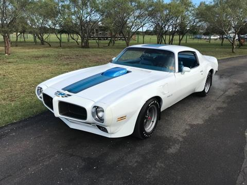 1970 Pontiac Trans Am for sale in Fredericksburg, TX