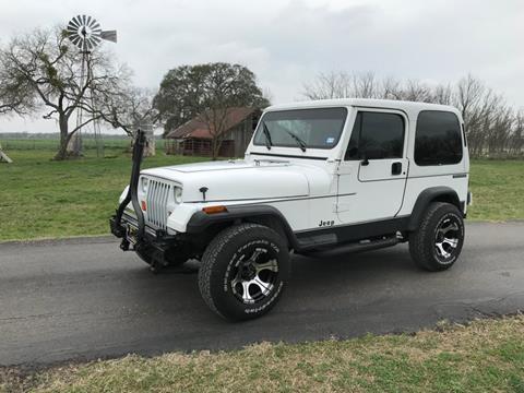 1991 Jeep Wrangler for sale in Fredericksburg, TX