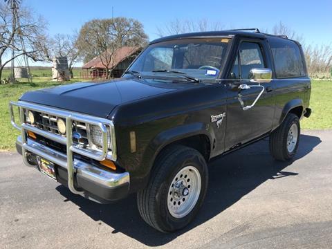 1988 Ford Bronco II for sale in Fredericksburg, TX