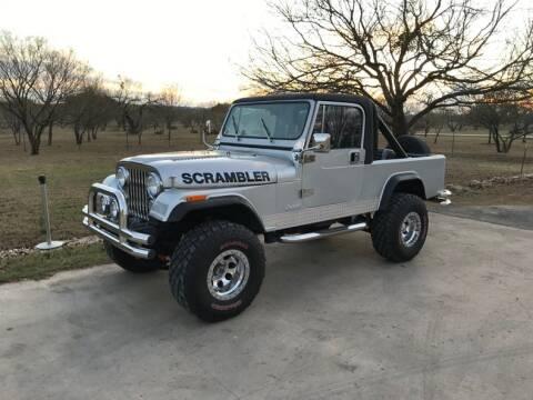 1981 Jeep Scrambler for sale in Fredericksburg, TX