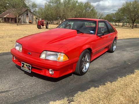1992 Ford Mustang for sale in Fredericksburg, TX