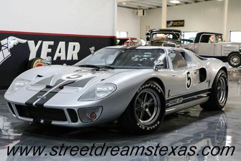 1966 Ford GT40 for sale at STREET DREAMS TEXAS in Fredericksburg TX